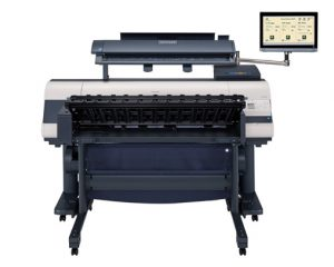"Canon iPF850 M40 MFP system with 22"" Touch Screen"