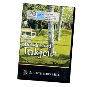 Bockingford® Inkjet 190gsm A4 Fine Art Paper