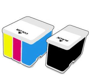 Ink Cartridge - Full Set - HP DesignJet T120/T520