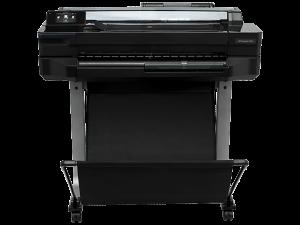 """HP Designjet T520 A1/24"""" Printer"""
