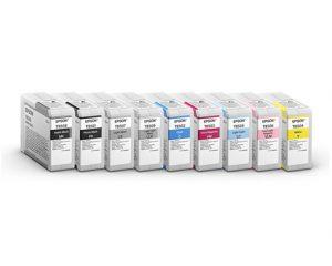 Ink Cartridge - Full Set - 80ml (Epson SureColor P800)