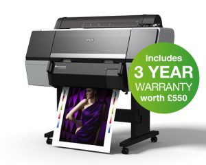 Epson SureColor SC-P7000 Violet Spectro 24in Printer - 10 Colour