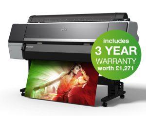 Epson SureColor SC-P9000 Violet Spectro 44in Printer - 10 Colour