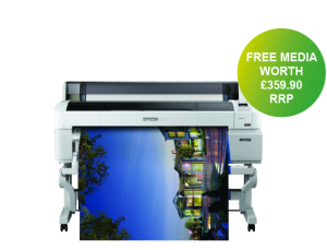 Epson SC-T7200 Printer with free paper bundle offer