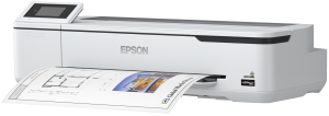 epson sc t31000 wireless printer printing out some paper