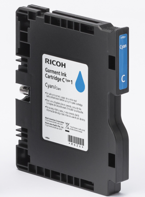 RICOH RI 100 Cyan Garment Ink Cartridge 35ML