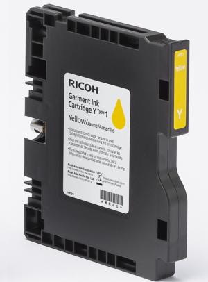 RICOH RI 100 Yellow Garment Ink Cartridge 35ML