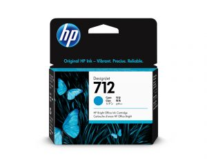 HP 712 29ml Cyan DesignJet Ink Cartridge