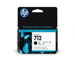 HP 712 38ml Black DesignJet Ink Cartridge