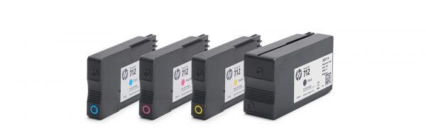 HP DesignJet T200-T600-Studio Series full Ink set