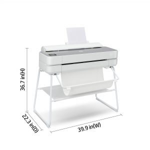 HP DesignJet Studio Steel 24 Inch Printer