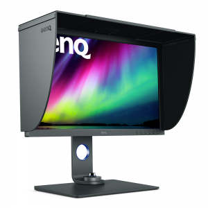 BenQ SW271 with hood
